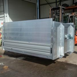 Benne aluminium 3,5 tonnes
