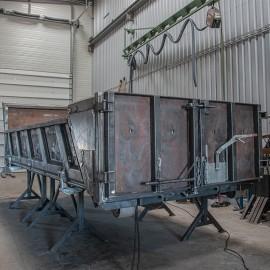 Mars 2020 - benne à ridelles hydraulique en Hardox®