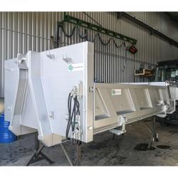Benne porte hydraulique/ridelles hydrauliques