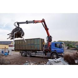 Grue recyclage HYVA CRANE