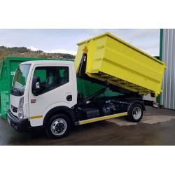 Bras hydraulique véhicule utilitaire léger