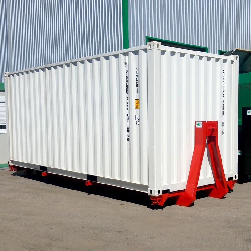 container sur berce