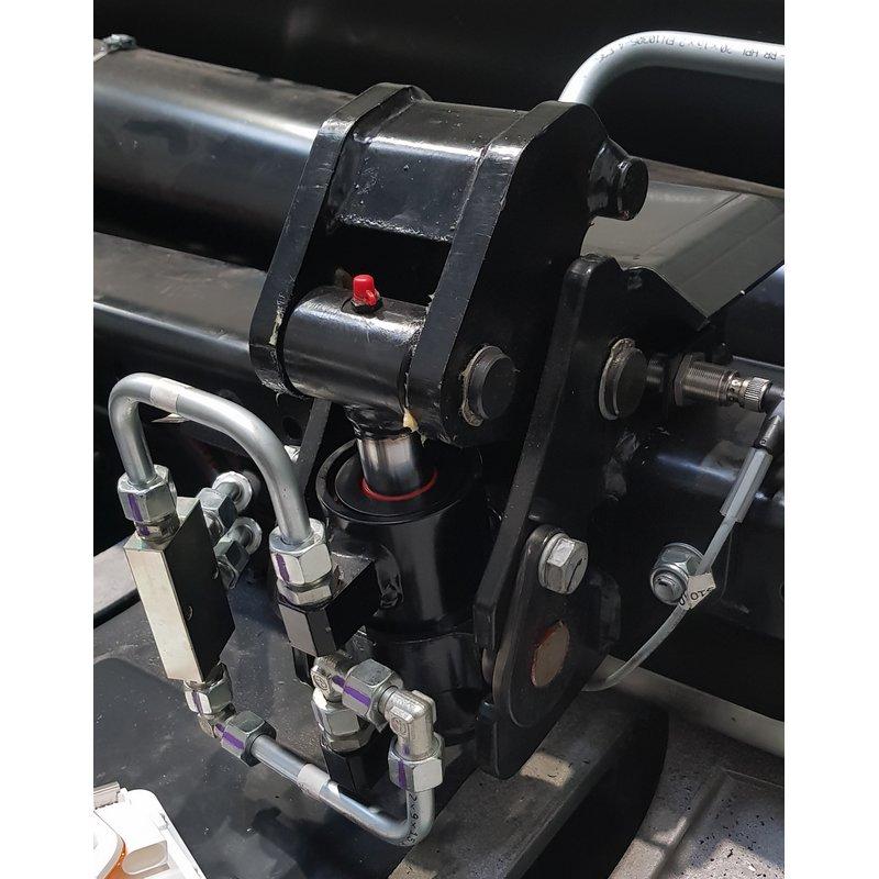 Verrouillage hydraulique avant